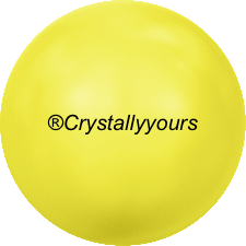 5810 CRYSTAL NEON YELLOW PEARLS