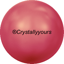 5810 CRYSTAL NEON RED PEARL