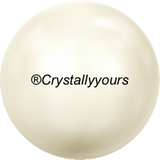 5811 MM 10 CRYSTAL PEARL LARGE HOLE