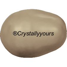 5821 CRYSTAL BRONZE PEAR-SHAPED PEARLS