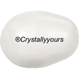 5821 CRYSTAL PEAR SHAPED PEARLS