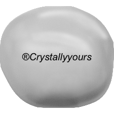 5840 CRYSTAL BAROQUE LIGHT GREY PEARLS