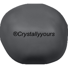 5840 CRYSTAL BAROQUE DARK GREY PEARLS