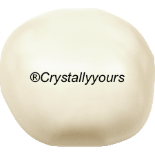 5840 CRYSTAL BAROQUE CREAMROSE LIGHT PEARLS