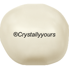 5840 CRYSTAL BAROQUE CREAM PEARLS