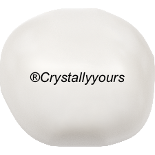 5840 CRYSTAL BAROQUE WHITE PEARLS
