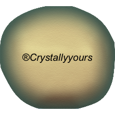 5840 CRYSTAL BAROQUE IRIDESCENT GREEN PEARLS