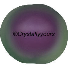 5840 CRYSTAL BAROQUE IRIDESCENT PURPLE PEARLS