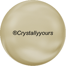 5860 CRYSTAL LIGHT GOLD COIN PEARLS