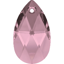 6106 MM 22 CRYSTAL AB PEAR-SHAPED PENDANT