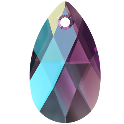 6106 MM 22 COLOURED EFFECTS PEAR-SHAPED PENDANT