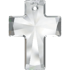 6864 MM 40X30 LARGE CROSS PENDANT