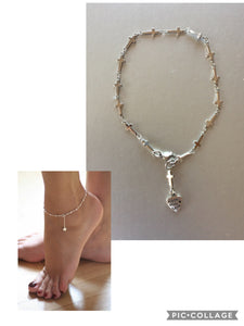 BRACELET ANKLE STAINLESS STEEL