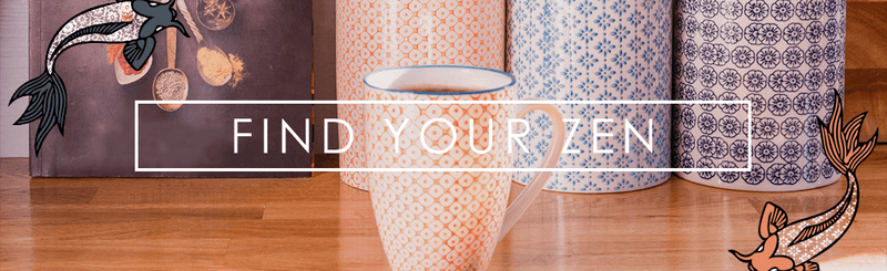 Find Your Zen With Nicola Spring's Hand-Printed Crockery