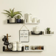 styling your shelves with a mix of things