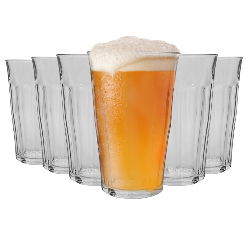 Duralex Picardie Traditional Tumbler Glasses - 500ml - Set of 6 Duralex Duralex Tumbler