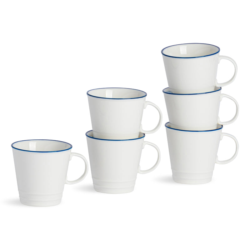 Nicola Spring 6 Farmhouse Espresso Cups - 90ml