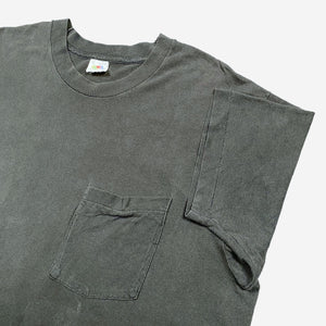 90s BLACK POCKET T-SHIRT