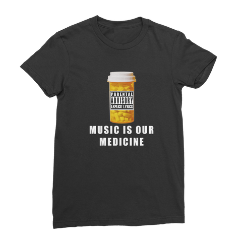 Pill Bottle RU Premium Jersey Women's T-Shirt
