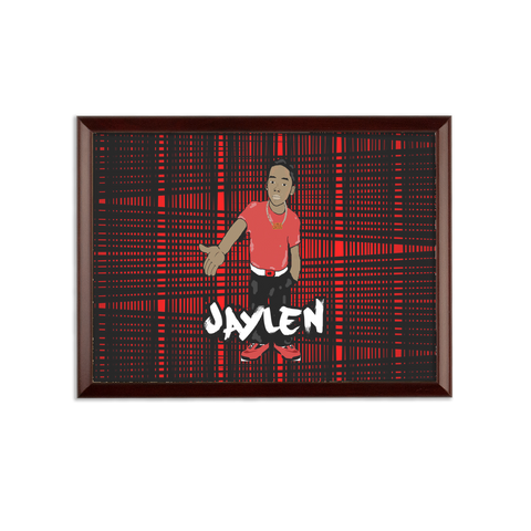 Jaylen  Sublimation Wall Plaque