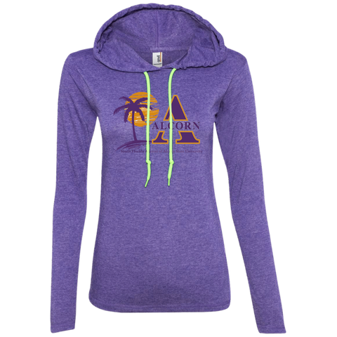 South Florida Alumni of Alcorn State University Ladies' LS T-Shirt Hoodie