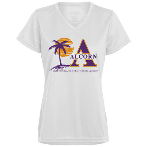 South Florida Alumni of Alcorn State University Ladies' Wicking T-Shirt