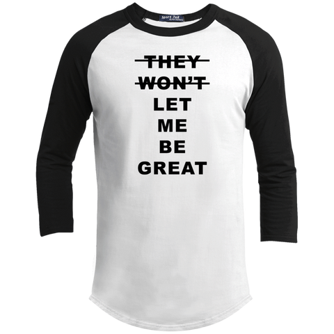 Let Me Be Great Long Sleeve T Shirt - iWILLinspire