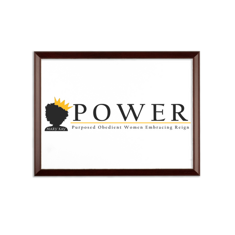 POWER Team Sublimation Wall Plaque