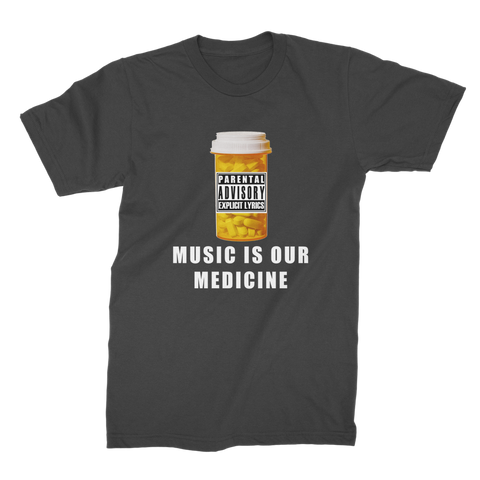Pill Bottle RU Premium Jersey Men's T-Shirt