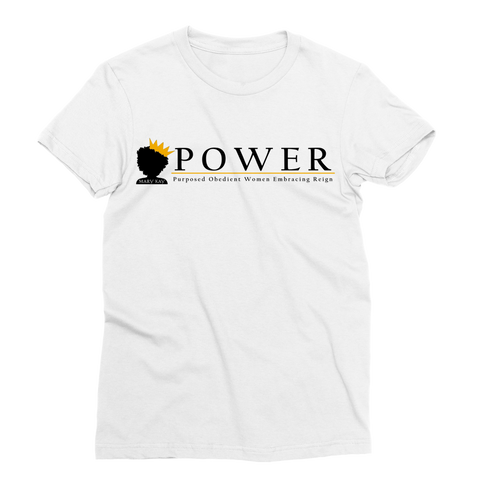 POWER Team Classic Sublimation Women's T-Shirt
