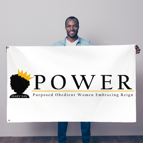 POWER Team Sublimation Flag