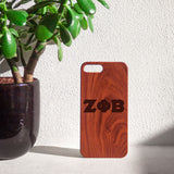 Zeta Phi Beta Wooden iPhone Case - iWILLinspire