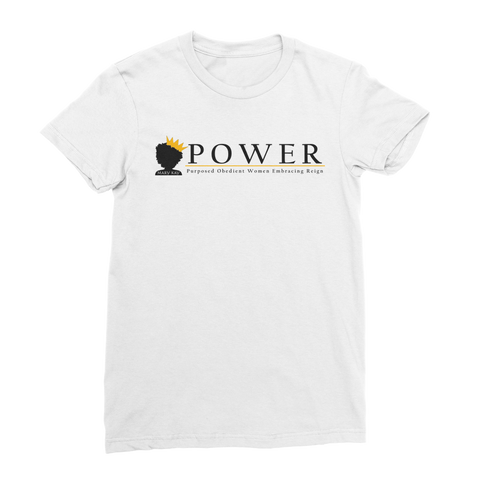 POWER Team Premium Jersey Women's T-Shirt