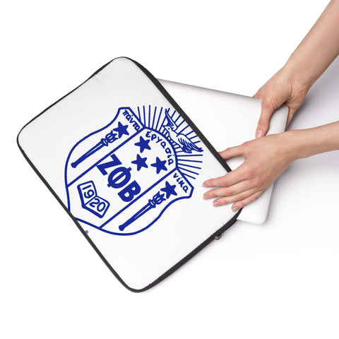 Zeta Phi Beta Laptop Sleeve - iWILLinspire