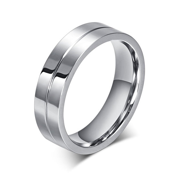 Couples Rings Stainless Steel