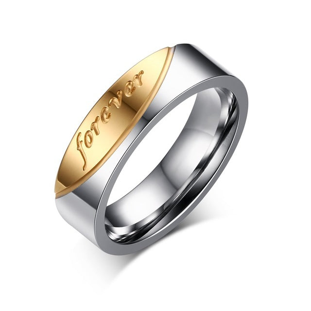 """love forerver"" Couple Rings"