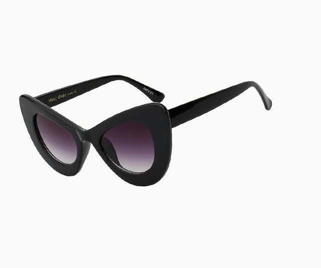 Big Frame Cat Eye Sunglasses (6 Variants)