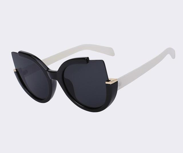 Round Shade Cat Eye Fashion Sunglasses (5 Variants)