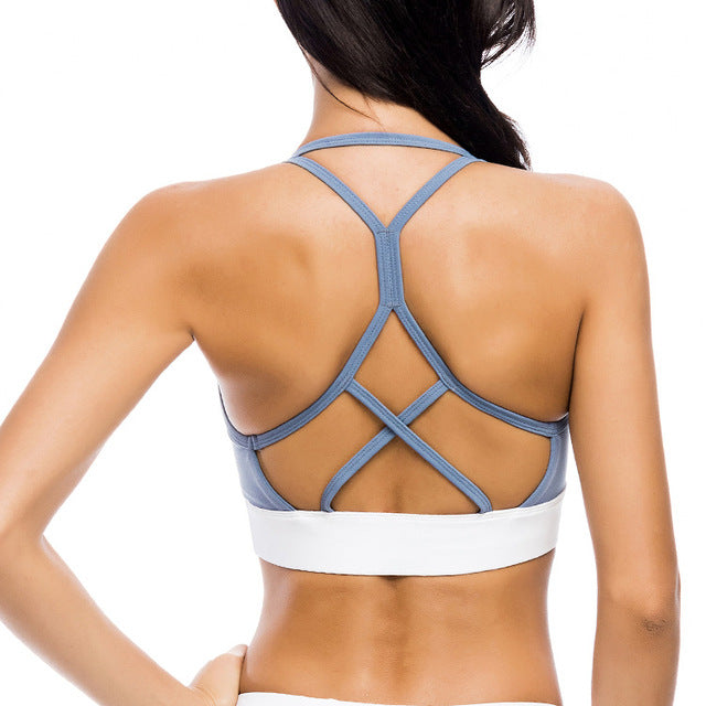 Sexy Backless Push Shockproof Up Bras