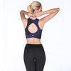 Hollow Back Patchwork Sporting Bras