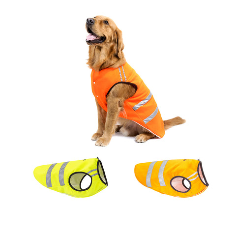 Reflective Pet Safety Jacket For Walking