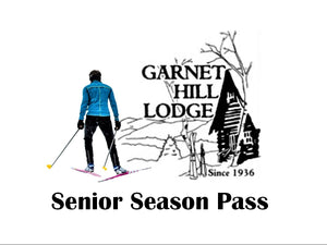 2019 Senior Ski Season Pass