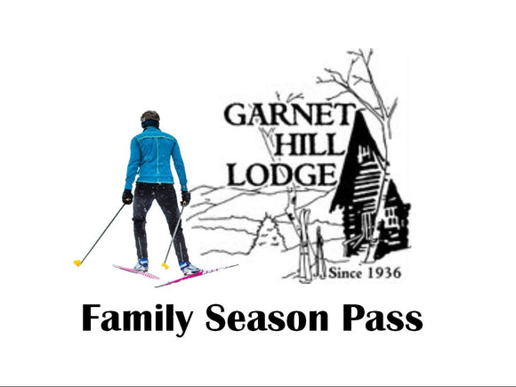 2019 Family Ski Season Pass