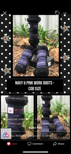 """Custom"" work boots x2 - your choice!"