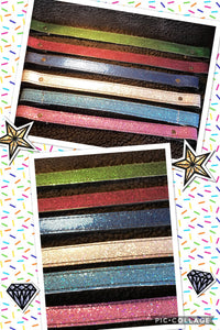 Sparkly paddock browbands!
