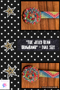 """The jelly bean browband"""