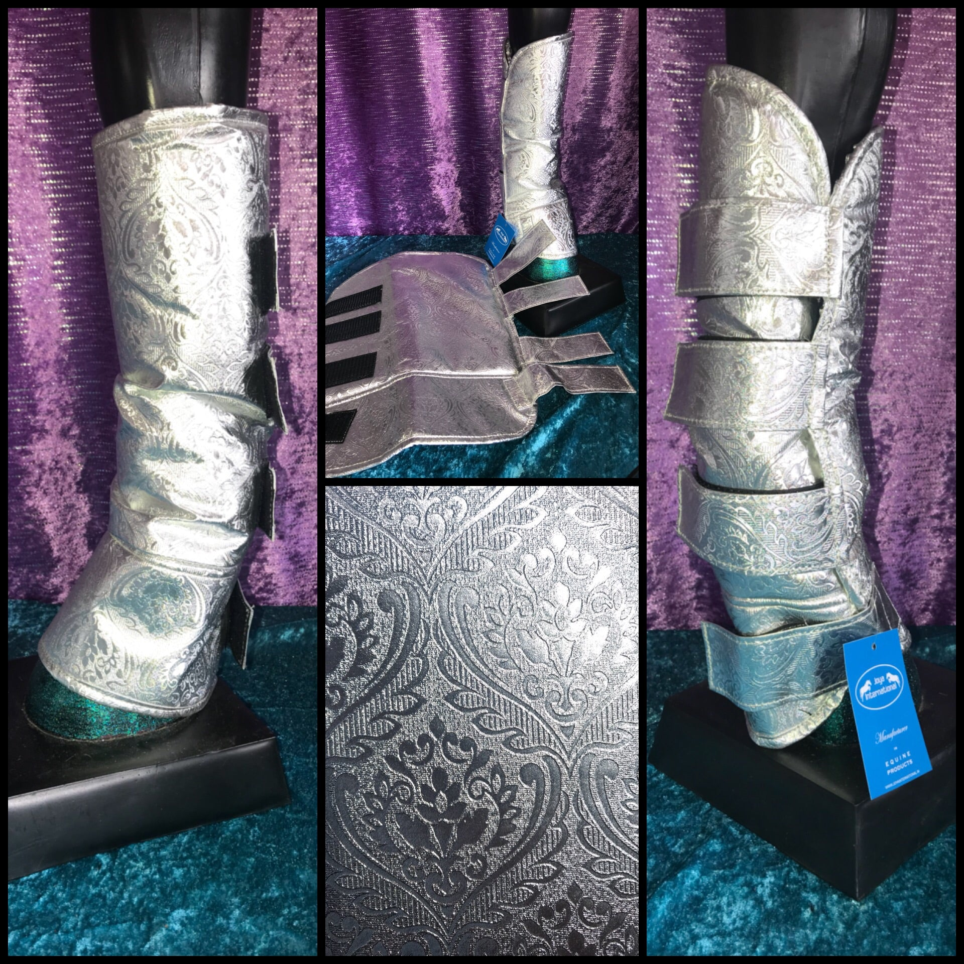 Silver Float boots!