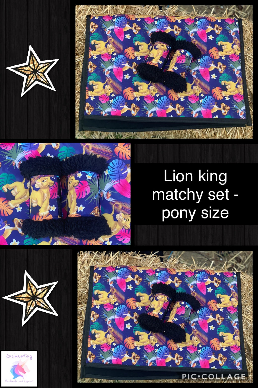 Lion king matchy set