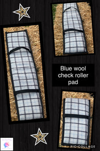 Wool check roller pad