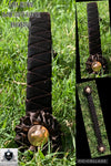 Dark brown sharktooth hunter browband